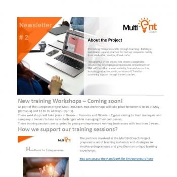 Cititi aici noutati despre oportunitatile oferite antreprenorilor europeni prin proiectul MultiENT Coach